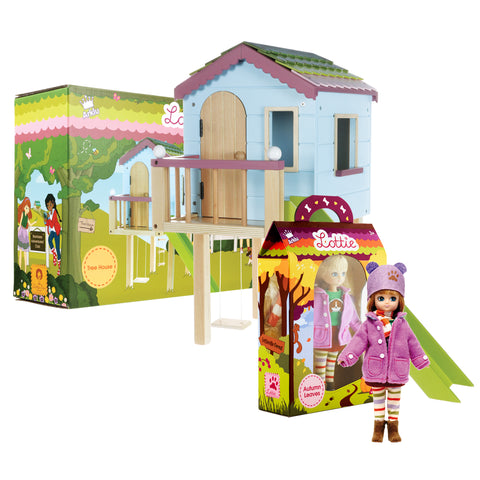 Gifts for Kids | Autumn Leaves & Tree House Playset