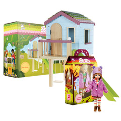 Autumn Leaves & Tree House Playset