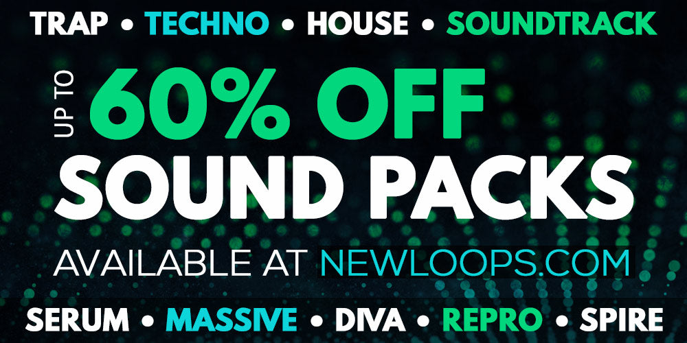 Up to 60% off sample packs and sound libraries from newloops.com