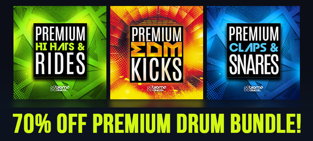 70% off Premium Drum Bundle