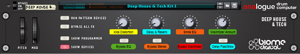 Deep House and Tech