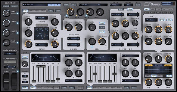 Elektro Synth Spire Presets - New Loops