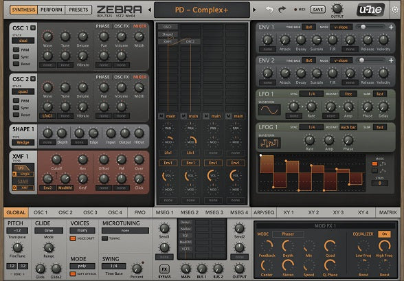 New Loops - Empyrean (U-he Zebra Presets)