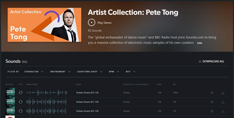 Pete Tong chooses sounds by New Loops