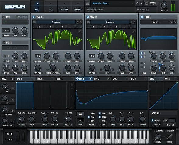 serum dubstep bass presets
