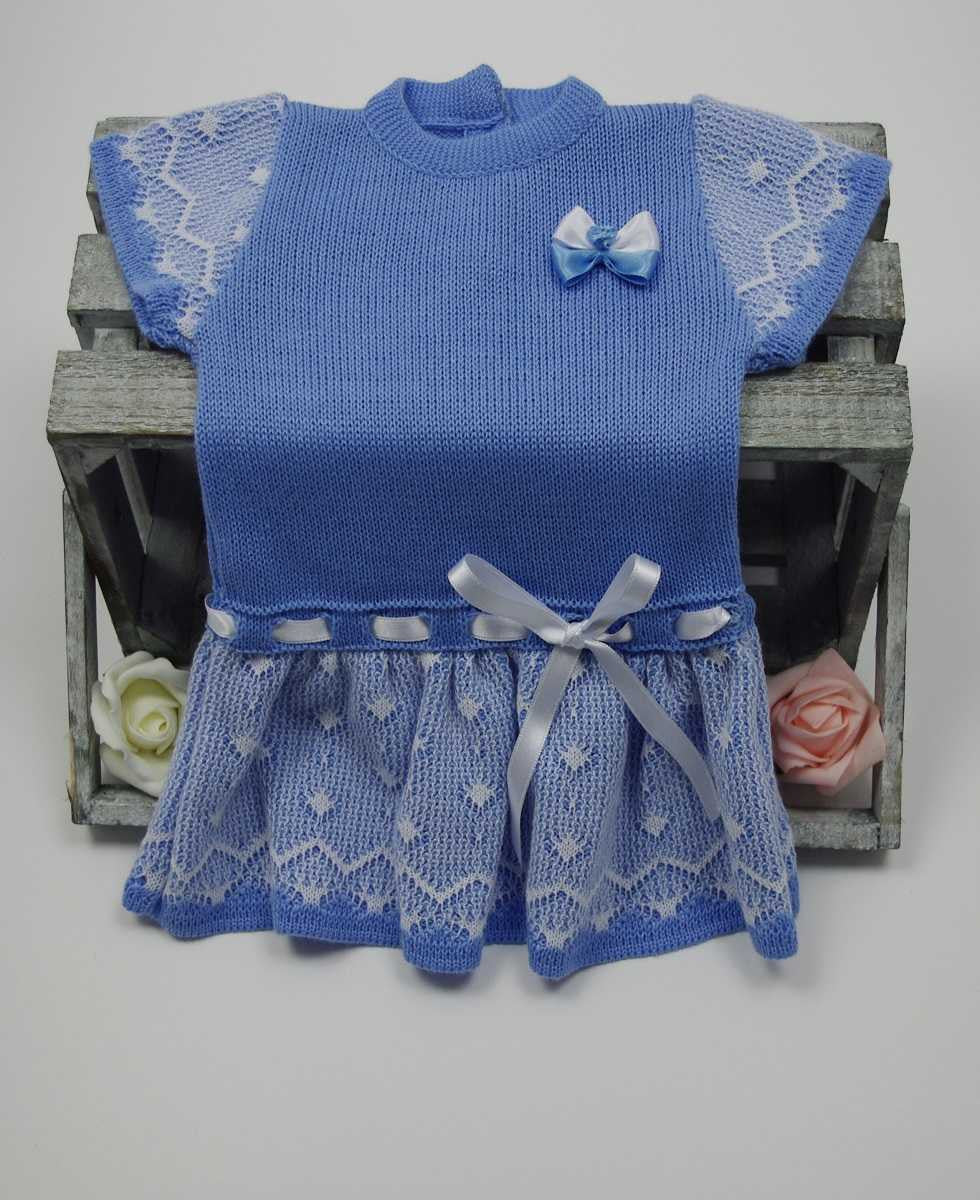 aa2081207f9a Baby Girl Knitted Dress (Choice Of Colours) – Bailey Buttons Boutique