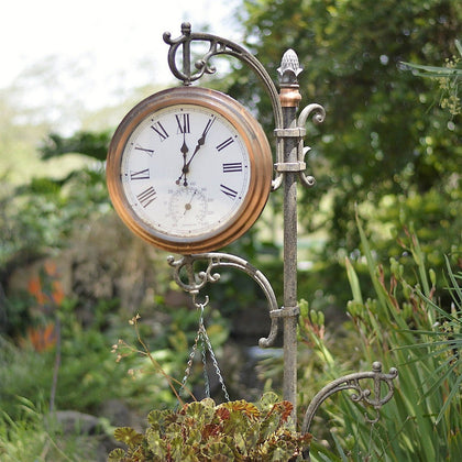 Outdoor Clocks and Weather Stations at Millhouse Lane Homewares