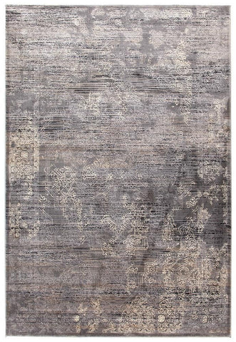 Nisa Transitional Rug Grey Charcoal Ivory, Modern - Millhouse Lane Homewares
