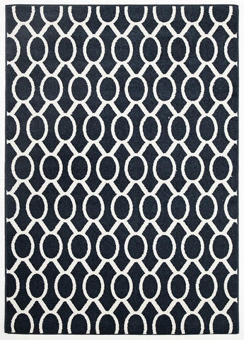 Neo Indoor / Outdoor Rug - Navy, Floor Rugs - Millhouse Lane Homewares