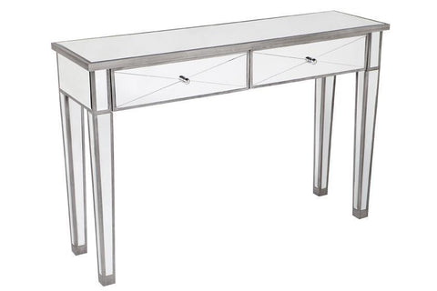 Console Tables Apolo Console Table - Antique Silver