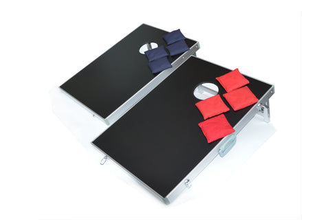 Bean Bag Toss Cornhole Game Set Aluminium Frame Portable Design Millhouse Lane Homewares decor