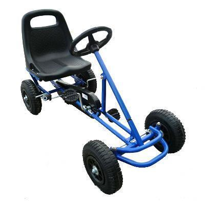 Benji Pedal Go Kart - Blue Millhouse Lane Homewares Kids Pedal Go Kart decor