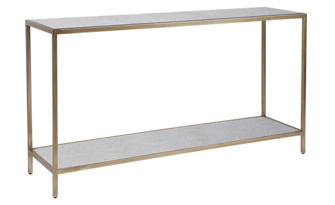 Default Title Cocktail Console Table - Antique Gold Console Tables