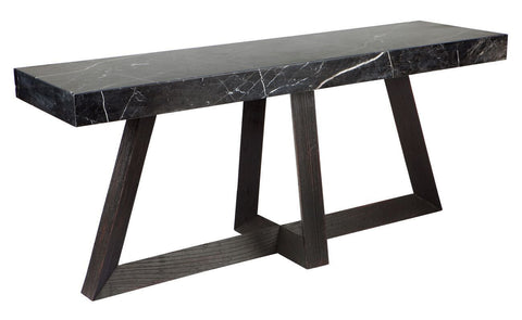 Ebony Console Table - Black Millhouse Lane Homewares Console Tables decor