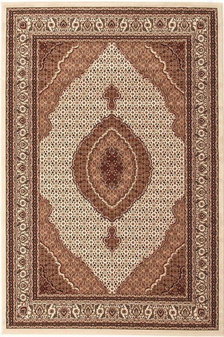 Traditional Stunning Formal Oriental Design Rug Cream