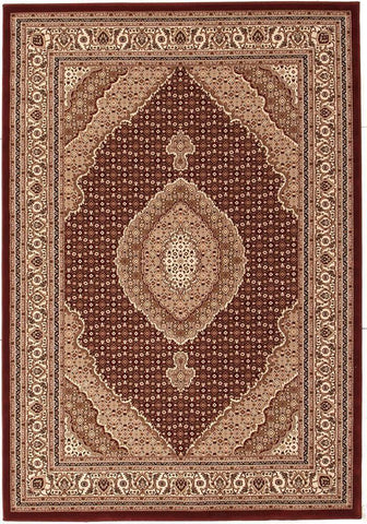 Traditional Stunning Formal Oriental Design Rug Red
