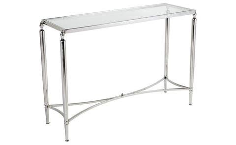 Jacques Console Table - Nickel Millhouse Lane Homewares Console Tables decor
