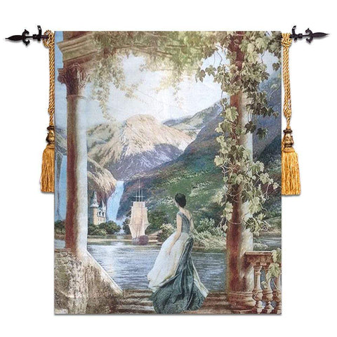 Lake Scene Wall Tapestry