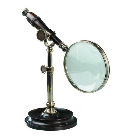 Magnifying Glass Magnifying Glass with Stand - Bronze