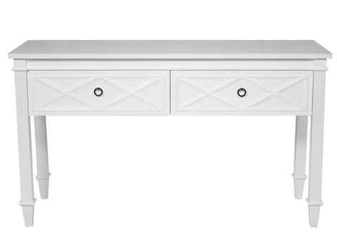 Console Tables Plantation Console Table - White