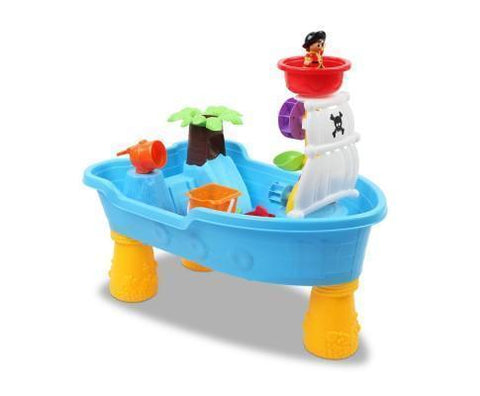 Sand and Water Play Sand and Water Table Set - Pirate Ship