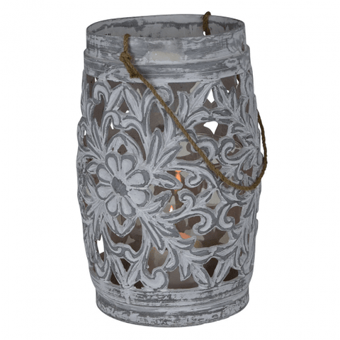 Candles, Holders & Lanterns Sapporo Hurricane Lantern - Grey