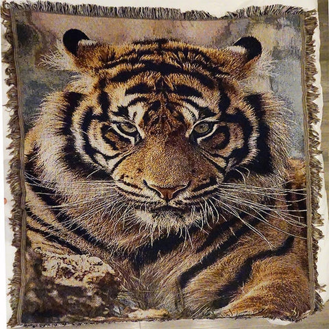 Tiger Tassels Throw Throws