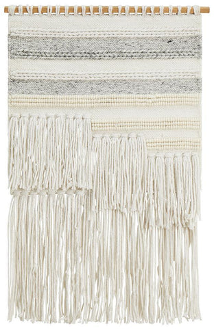 Rug Culture Home 427 Silver Wall Hanging 90x60cm Wall Hangings
