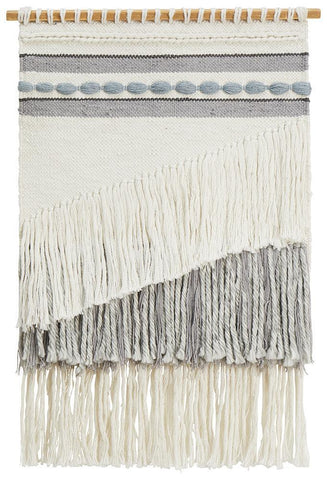 Rug Culture Home 430 Grey Wall Hanging 90x60cm Wall Hangings