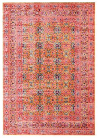 Modern Whisper Sunset Rust Rug