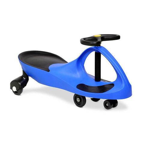Wiggle Swing Kids Car - Blue Millhouse Lane Homewares Kids Swing Car decor