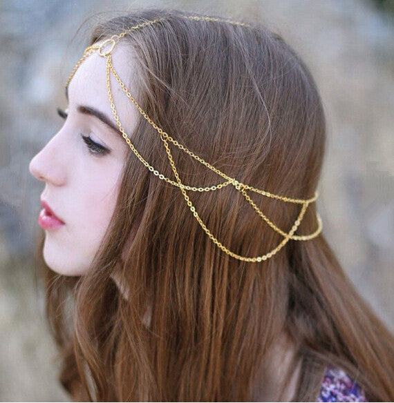 Ancient Simple Hair Chain - 786shop4you
