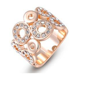 Austrian Classic Crystal Ring - 786shop4you