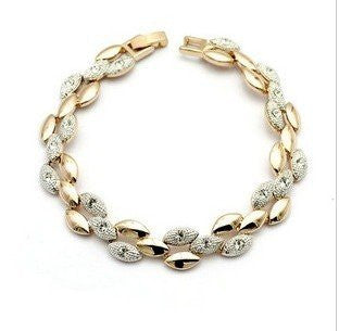 Rhinestone Vintage Wheat Bracelet - 786shop4you