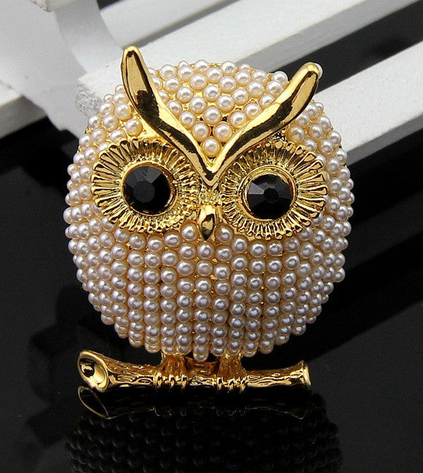 2016 The owl brooches for women Cute cartoon corsage Professional suit deserve to act the Jewelry Wholesale b9/-dyz Jewellery 403101487 - 786shop4you