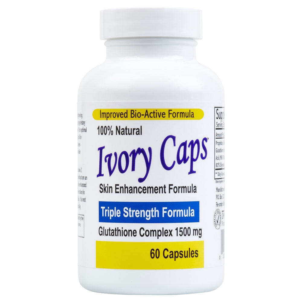 Ivory Caps Glutathione Skin Enhancement Formula ~ 60 Capsules - 786shop4you