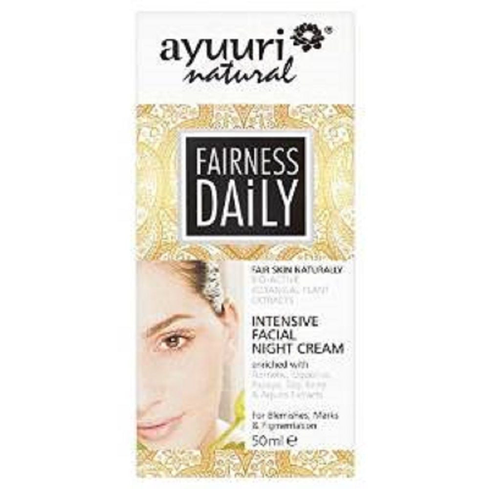 Ayuuri Fairness Daily Intensive Night Cream 50ml - 786shop4you