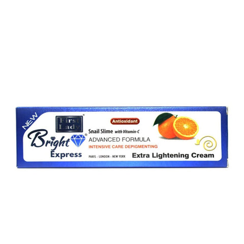 FIRST LADY BRIGHT EXPRESS SNAIL SLIME WITH VITAMIN C EXTRA LIGHTENING CREAM (TUBE) 50G - 786shop4you