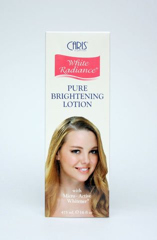 CARIS WHITE RADIANCE PURE BRIGHTENING LOTION 16Oz - 786shop4you