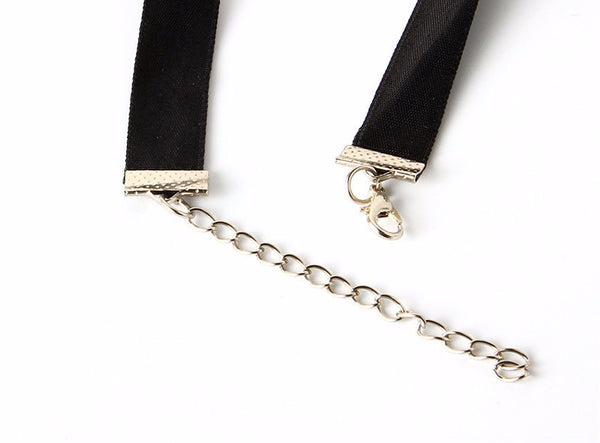 Black Velvet Choker Necklace - 786shop4you