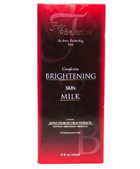 Fair And Balance Complexion Brightening Skin Milk 355ml - 786shop4you
