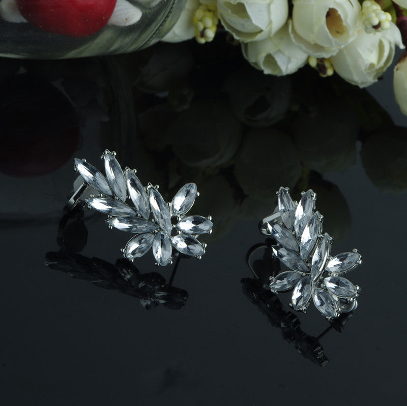 Fashion with exaggerated one color earrings high-grade 403101486 - 786shop4you