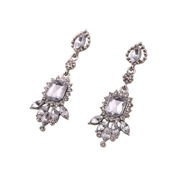 Fly Crystal Earring - 786shop4you