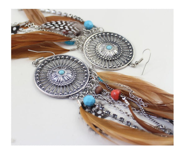 Feather Earring - 786shop4you