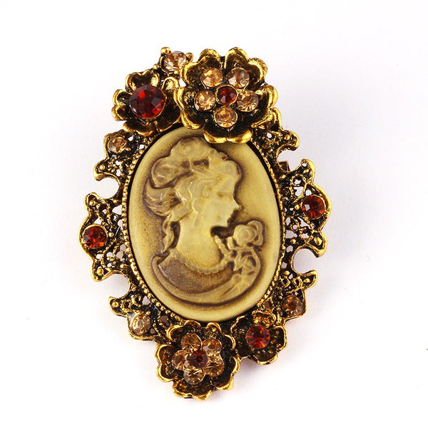 Classic Vintage Brooch - 786shop4you