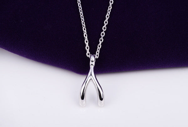 Y Pendant Silver Plated Necklace - 786shop4you