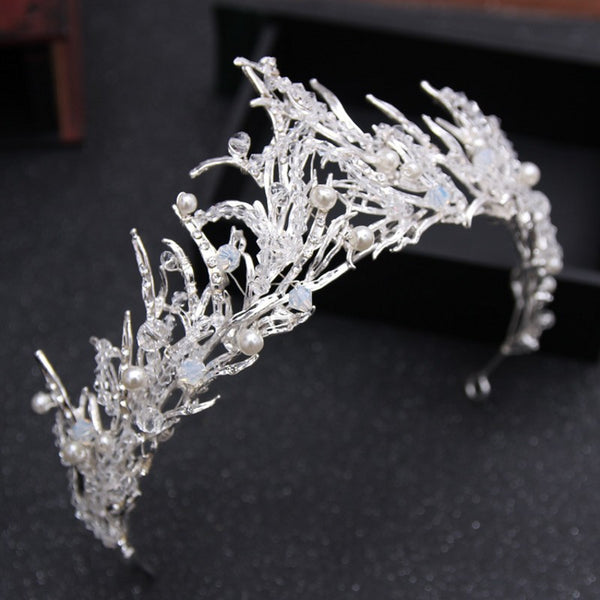 Vintage Snow Queen Tiara - 786shop4you