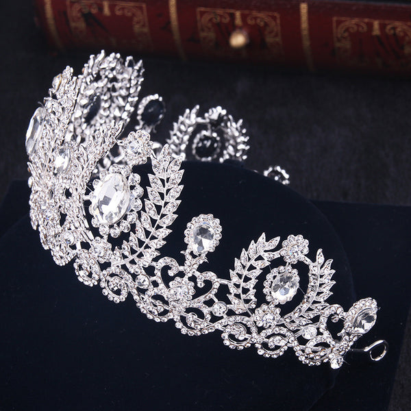Handmade Cystal Bridal Tiara - 786shop4you
