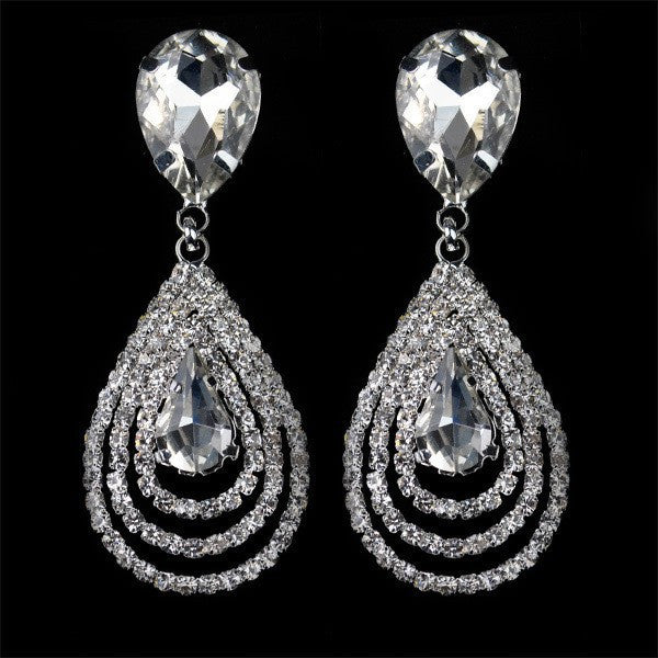 Beautiful Crystal Earring - 786shop4you