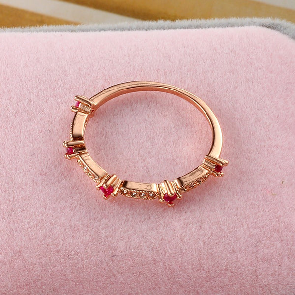 Crystal 18K Gold Plated Ring - 786shop4you
